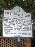 Image for America's First Garden Club (marker #2)