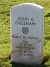 John C Gresham, San Francisco National Cemetery