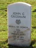Image for John C. Gresham - San Francisco National Cemetery