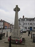 Image for WW1 & WW2 War Memorial, High Street, Llanfyllyn, Powys, Wales, UK