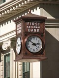 Image for First National Bank Clock - Bob R. Simpson Building - Fort Worth, TX