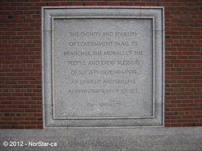 Boston Quotes Custom Various Quotes John Joseph Moakley US Courthouse Boston MA