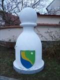 Image for Karlštejnské šachy (10) - bílý pešec / Chess of Karlstein castle - white pawn (Hlásná Treban, Czech Republic)