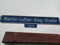 Image for PEACE: Martin Luther King 1964 - Rottenburg, Germany, BW