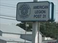 "Image for ""AMERICAN LEGION POST  31"" - Jackson, TN"