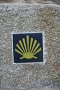 Image for Rúa da Encarnación Way Marker - Muxia, Spain