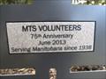 Image for MTS Volunteers - 75 Years - Winnipeg, Manitoba