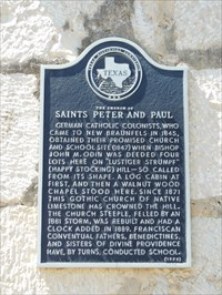 St peter and paul new braunfels