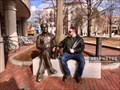 Image for A Man and a Cat Named Yitz - AKA Shillman Cat, Northeastern University - Boston, Massachusetts USA