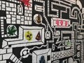 Image for Motley Maze Mayhem mural - Providence, Rhode Island