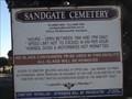 Image for Sandgate Cemetery [' Newcastle', NSW, Australia]