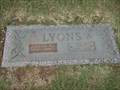 Image for 102 - Lillian M. Lyons - Chapel Hill Cemetery - OKC, OK