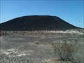 """Image for Walk Up to the Crater in """"Black-Sinder' Land - Amboy, CA"""