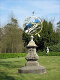 Image for Sundial near city hall of Waalre, Netherlands.