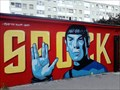 Image for Mr. Spock Graffiti - Zagreb, Croatia