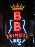 Image for BB Kings Blues Club - Artistic Neon - Memphis, Tennessee, USA.