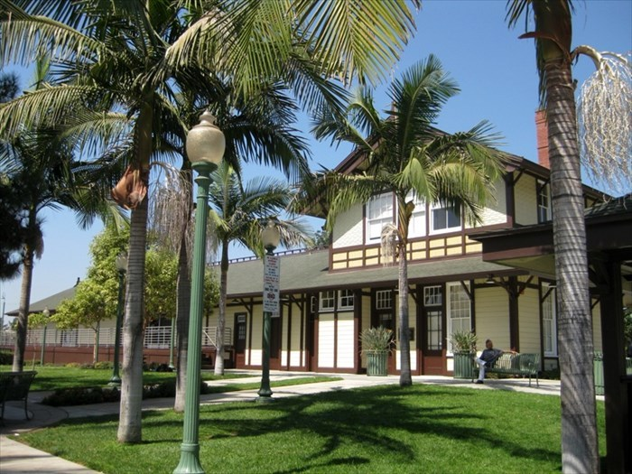 Whittier Train Depot
