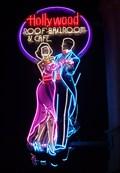 Image for Ballroom Dancers  Neon - Universal Studios, Orlando, Florida, USA.