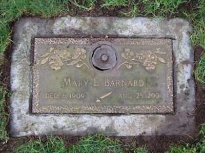 Mary E Barnard Evergreen Memorial Gardens Vancouver Washington Dead Poets 39 Society