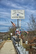 Image for Private First Class Floyd Convent Memorial Bridge - Northbridge MA
