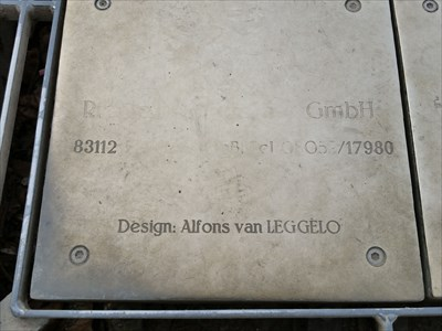 metal plate from the Dance Chimes
