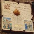 Image for Cadran solaire des pélerins de St Jacques de Compostelle, Larchant, France