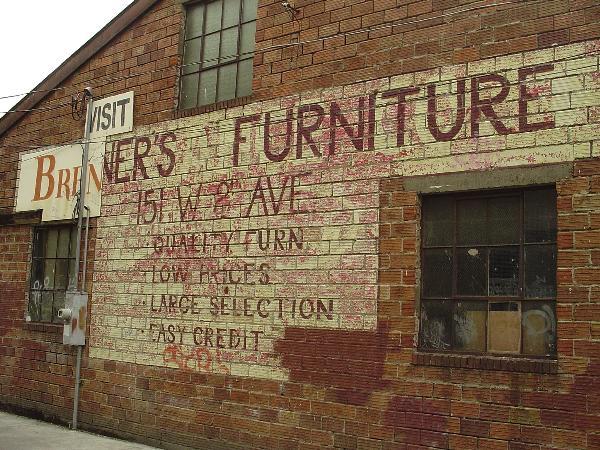 Brenners Furniture Eugene Oregon Ghost Signs On
