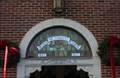 Image for Stained glass over door - Ogden Methodist Church, Binghamton, NY