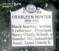 Image for Charles N. Hunter 1852-1931 (H-103)