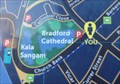 """Image for """"You Are Here"""" Opposite Bradford Cathedral - Bradford, UK"""