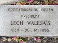 Image for President Lech Walesa Visits New Waverly - New Waverly, TX