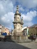 Image for Kašna se sochou sv. Jana Nepomuckého - Pocátky, okres Pelhrimov, CZ
