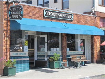 Toot Sweets Front, Berkeley, CA