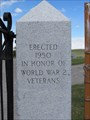 Image for Augusta Cemetery - WWII Memorial - Augusta, Montana