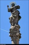 Image for Immaculata on Marian Column / Immaculata na mariánském sloupu -  Podebrady (Central Bohemia)