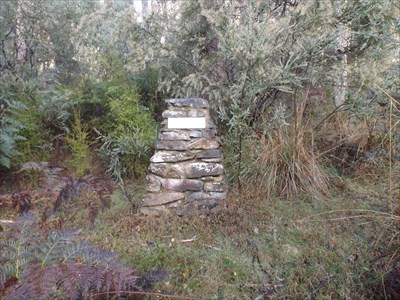 Another monument/cairn, at the Cemetery site. 0805, Tuesday, 17 May, 2016