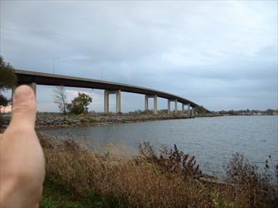 Bon Echo visited Norris Whitney Bridge - Belleville