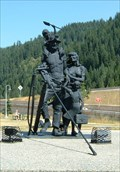 Image for Sunshine Miner and Family - Wallace, Idaho