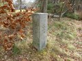 Image for 1906 Survey Stone Boundary Marker - Monson, MA / Stafford Springs CT
