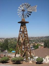 Mockingbird Hill Windmill, San Jose, CA