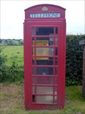 Image for Converted Red Telephone Box - Rock End, Biddulph Moor, Stoke-on-Trent, Staffordshire.