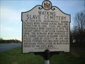 Image for Watkins Slave Cemetery