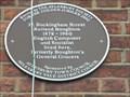 Image for Brown Plaque - 37 Buckingham St - Aylesbury