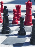 Image for Chess in the Square. Christchurch City. New Zealand.