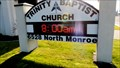 Image for Trinity Baptist Church Time & Temperature - Spokane, WA