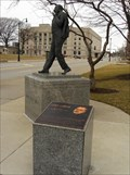Image for Rev. Dr. Martin Luther King, Jr. statue at Freedom Corner - Springfield, IL