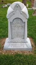 Image for Baptist Hill NY cemetery, third zinc monument