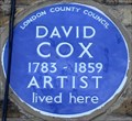 Image for David Cox - Foxley Road, London, UK