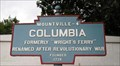 Image for Blue Plaque: Columbia