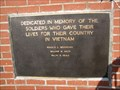 Image for Vietnam War Memorial - Gentry County Courthouse - Albany, Missouri